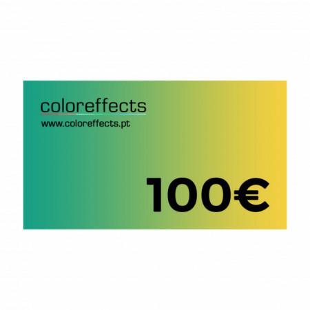 Coloreffects Cheque de Oferta 100€