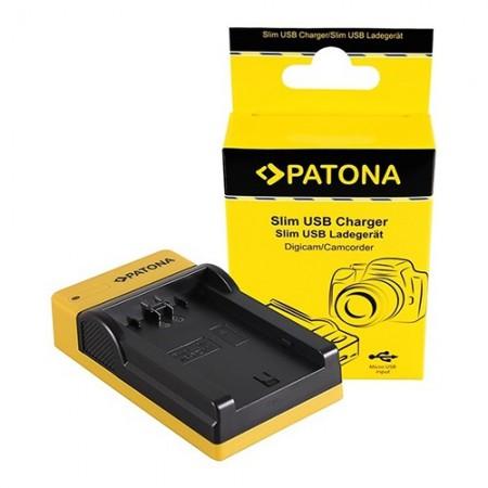 Patona Carregador Slim USB p/ Baterias Sony NP-FZ100