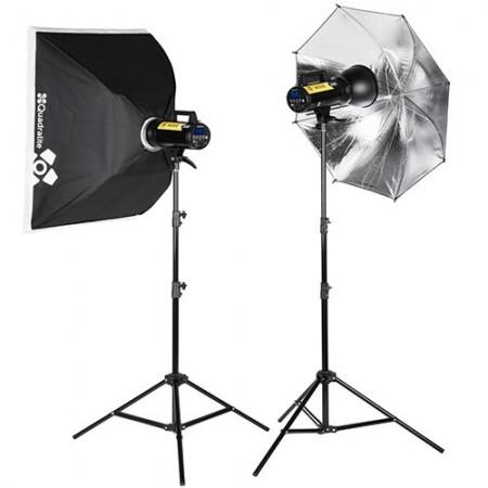 Quadralite Flash Estúdio Move X 300 KIT