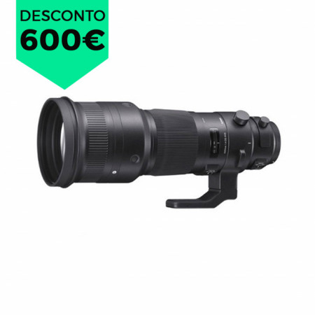 Sigma 500mm f/4 [SPORT]DG OS HSM p/ Canon
