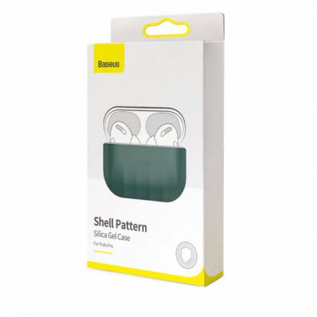 Baseus Capa p/ AirPods Pro Case Shell Green (WIAPPOD-BK06)