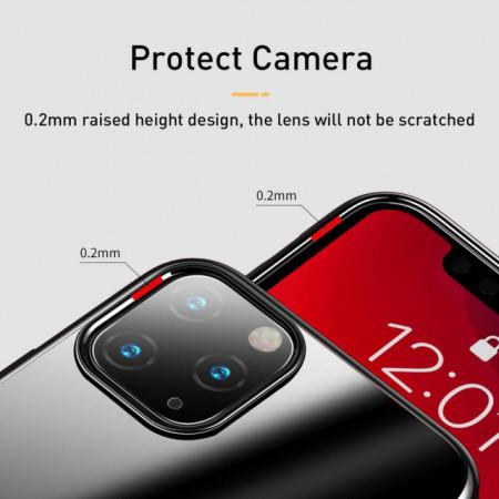 Baseus Capa p/ iPhone 11 Pro Max Glitter Black (WIAPIPH65S-DW01)