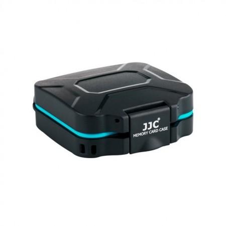JJC Estojo para Cartões - 4x SD / 4x Micro SD