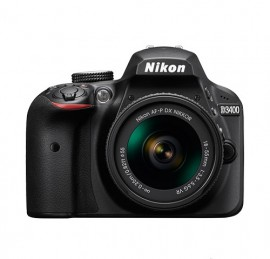 Nikon D3400 + AF DX 18-55mm + Extras