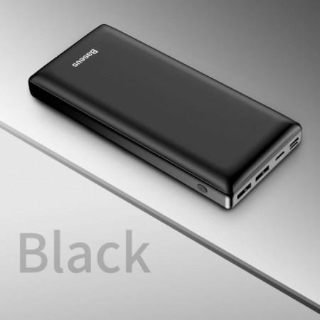Baseus Power Bank Mini JA 30.000mAh Black (PPJAN-C01)