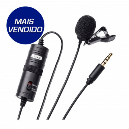 Boya Microfone de Lapela (BY-M1)