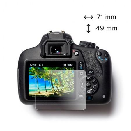 easyCover Protecção Vidro Temperado para LCD da Canon 5D Mark III / 5DS / 5D Mark IV