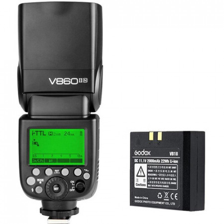 Godox KIT Flash Speedlight V860II Nikon