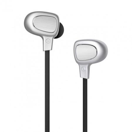 Baseus Auriculares Bluetooth Encok Silver/Black (NGB15-0S)