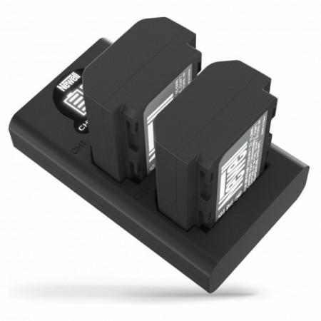 Newell Carregador Duplo de Baterias NP-FZ100 c/ 2x Baterias
