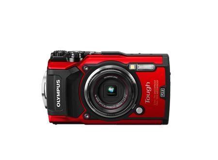 Olympus TG-5 Vermelha + LG-1