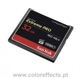 Sandisk Cartão Extreme Pro CF 32GB 160MB/s