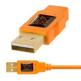 Imagens Tether Tools Cabo USB 2.0 Macho A / Mini-B 5 Pin - 4,6mt