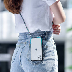 Baseus Capa p/ iPhone 11 Pro Max Element Crossbody Blue (ARAPIPH61S-YS03)