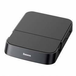 Baseus HUB 7-em-1 Inteligente Docking Station Type-C Black (CAHUB-AT01)