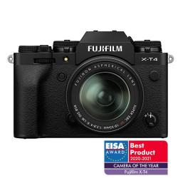 Fujifilm X-T4 Preta + XF 18-55 f/2.8-4 R LM OIS Kit