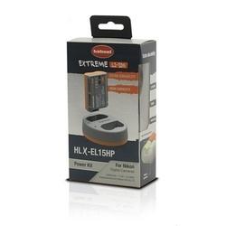 Hahnel Carregador HLX-EL15P Power Kit