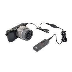 Kiwifotos Disparador c/ Cabo similar ao Sony RM-SPR1 - 2mt