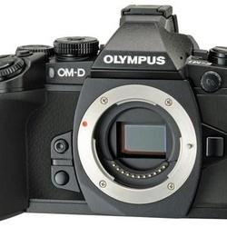 Olympus E-M1 CORPO Preta