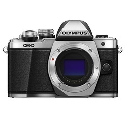 Olympus E-M10 II CORPO Prata