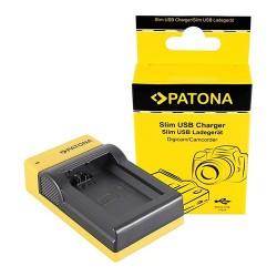Patona Carregador Slim USB p/ Baterias Sony NP-FW50