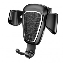 Baseus Suporte p/ Telefone Gravitacional Serie Metal Type Black (SUYL-B01)