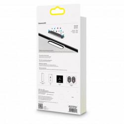 Baseus T-Glass Curvo p/ iPhone 11 A-Spy Dust Prev 0.23mm Black 2Pcs (SGAPIPH61S-WC01)
