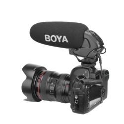 Boya Microfone Shotgun Supercardioide Pro (BM3031)