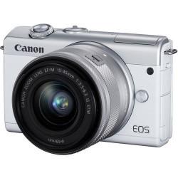 Canon EOS M200 + EF-M 15-45mm Branco