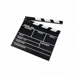 Caruba Claquete de Cinema Dry Erase Diretor 24.5X30cm