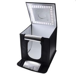 Caruba Cubo de Luz c/ Iluminação Led Dimável 40x40x40cm
