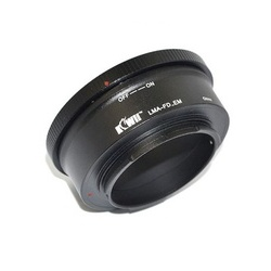 Kiwifotos Adaptador Objetivas Canon FD a Corpo Sony E-Mount