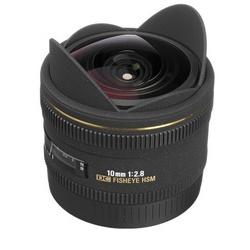 Sigma 10mm f/2.8 FishEye DC HSM p/ Canon