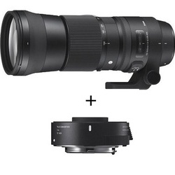 Sigma 150-600mm f/5-6.3 CONTEMPORARY DG OS HSM + TC-1401 p/ Canon
