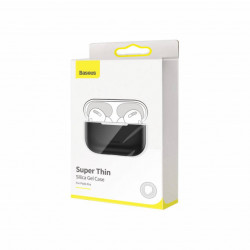 Baseus Airpods Pro case Super Thin Silica Gel Black (WIAPPOD-ABZ01)