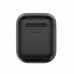 Baseus Carregador Wireless p/ Airpods Preto (WIAPPOD-01)
