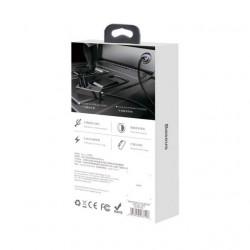 Baseus Patulous Carregador de Isqueiro c/ 4 Saidas USB 5.5A Black (CCTON-01