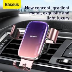 Baseus Suporte p/ Telefone Gravitacional Vidrado Pink (SUYL-LG04)