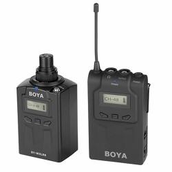 Boya Transmissor Portátil UHF p/ Microfones XLR BY-WXLR8PRO