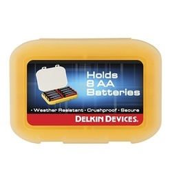Delkin Devices Caixa p/ 8 Pilhas AA WR