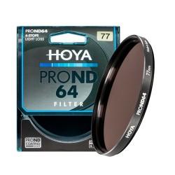 Hoya Filtro PRO ND64 (1.8) - 6 Stops - 82mm