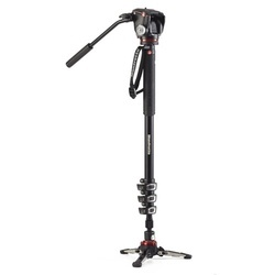 Manfrotto Monopé Video MVMXPROA42W c/ Cabeça e Base