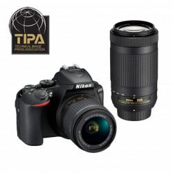 Nikon Kit D3500 + 18-55 + 70-300 VR + Mochila + eLivro