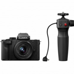 Panasonic LUMIX G DC-G100V + lente de 12-32mm c/ Kit Tripé