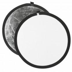 Quadralite Refletor Dobrável Silver White 110cm