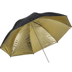 Quadralite Sombrinha Refletora Dourada 120cm