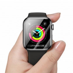 Baseus T-Glass p/ iWatch 38mm Curvo de Tela Cheia 0.2mm Black (SGAPWA4-E01)