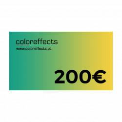 Coloreffects Cheque de Oferta 200€