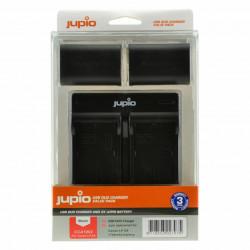 Jupio Kit Carregador USB Duplo + 2 Baterias LP-E6