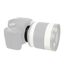 Kiwifotos Adaptador Objetivas T2 a Corpo Canon EOS